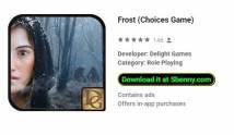 Frost (Scelte del gioco) + MOD