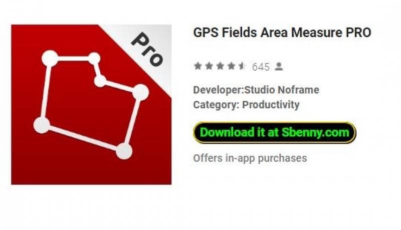 منطقه GPS Fields Measuring PRO