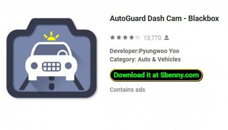 AutoGuard Dash Cam - Blackbox + MOD