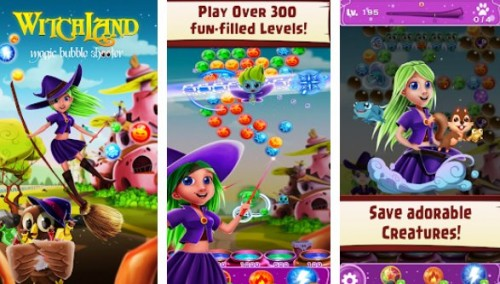 WitchLand - Magic Bubble Shooter + MOD