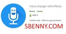 Cambiador de voz con efectos + MOD