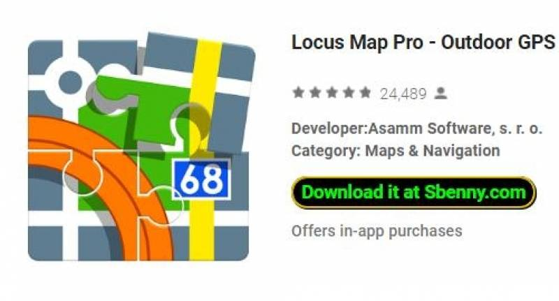Locus Map Pro - Outdoor GPS navigation and maps