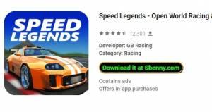 Speed Legends - Open World Racing + MOD