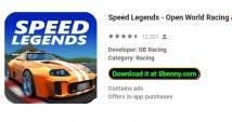 Speed Legends - Open World Racing & amp; Conduite de voiture + MOD