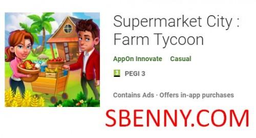 شهر سوپر مارکت: Farm Tycoon + MOD