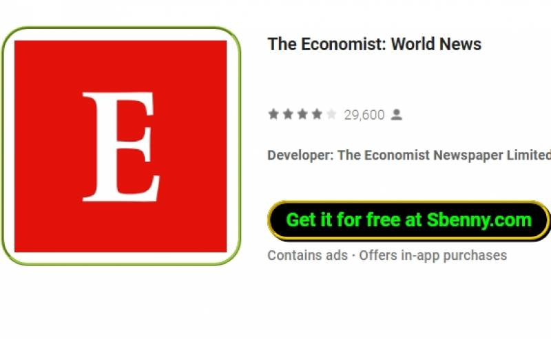 The Economist: Noticias del Mundo + MOD