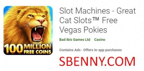 Máquinas Tragamonedas - Grandes Cat Slots ™ Gratis Vegas Pokies