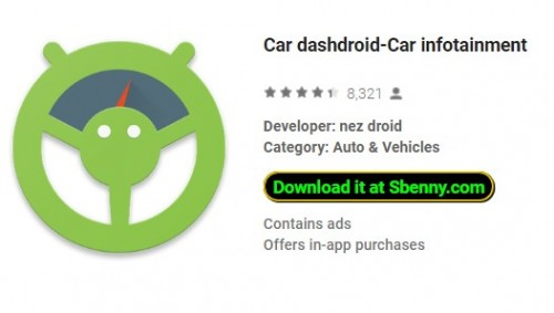 Voiture dashdroid-Car Infotainment + MOD
