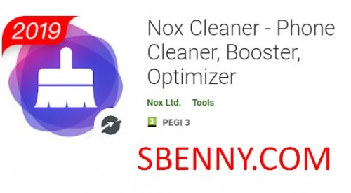 Nox Cleaner - Telefonreiniger, Booster, Optimizer + MOD