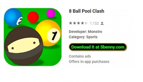 8 Ball Pool Choque + MOD