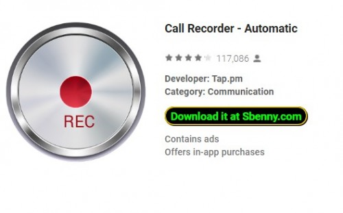 Call Recorder - Automatique + MOD
