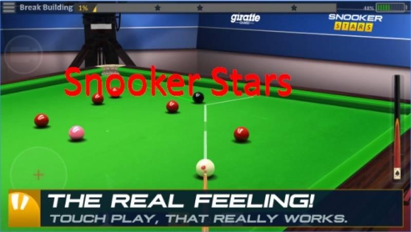 Snooker Sterne + MOD