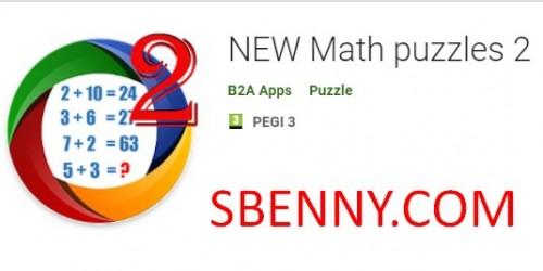NUEVOS rompecabezas de matemáticas 2