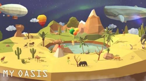 My Oasis - Tap Sky Island + MOD