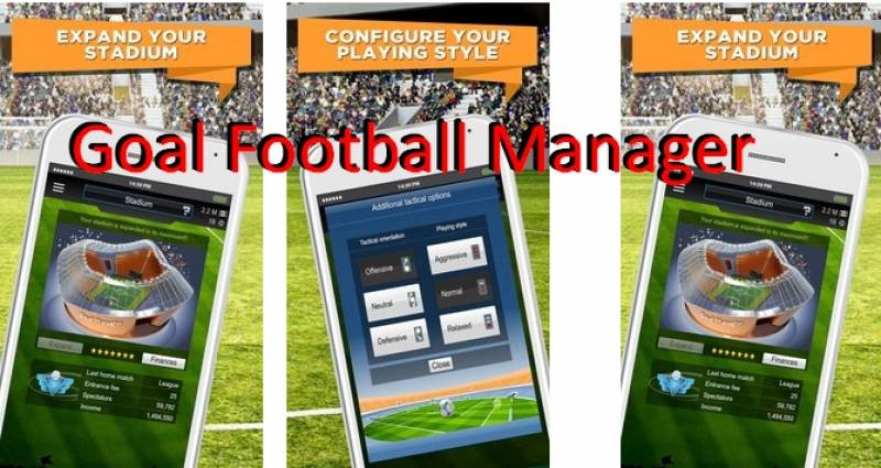 Goal Football Manager + MOD