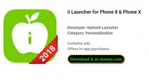 ii Launcher for Phone 8 & Phone X + MOD