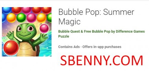 Bubble Pop: Summer Magic + MOD