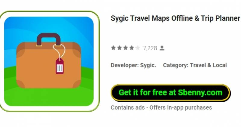 Sygic Travel Maps Offline & amp; Trip Planner + MOD