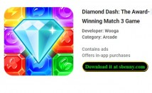 Diamond Dash: Das preisgekrönte Spiel 3 Game + MOD