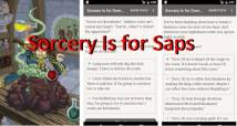 Sorcery Is for Saps + MOD