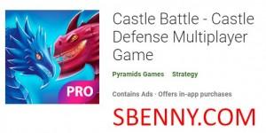 Castle Battle - Juego multijugador de Castle Defense