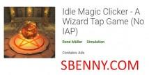 Idle Magic Clicker - A Wizard Tap Game + MOD