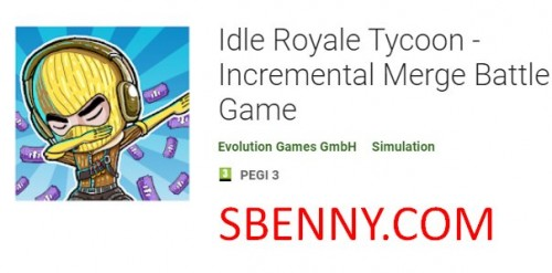 Idle Royale Tycoon - Inkrementelles Merge Battle Game + MOD