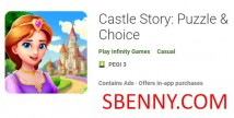 Castle Story: Puzzle & amp; Choix + MOD