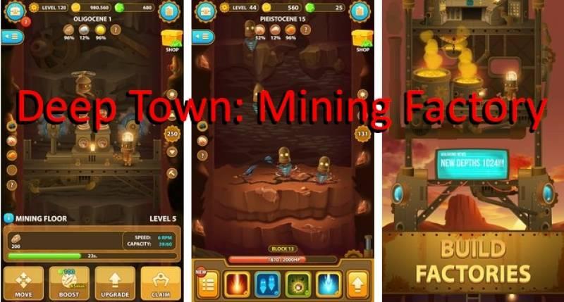 Ville profonde: Mines usine + MOD