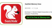 SanDisk Zona Memória