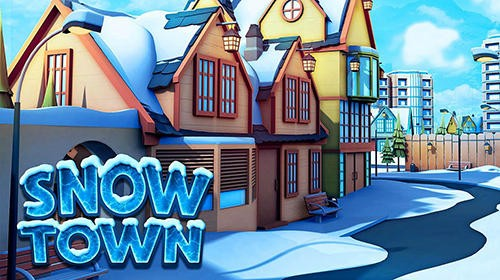 Snow Town - Ice Village World: Winter City + MOD
