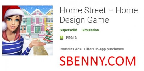 Home Street - Home Design Game + MOD