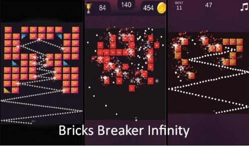 Bricks Breaker Infinity - Classic Game + MOD