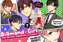 Jeux Otome otaku datant sim: Diamond Girl + MOD