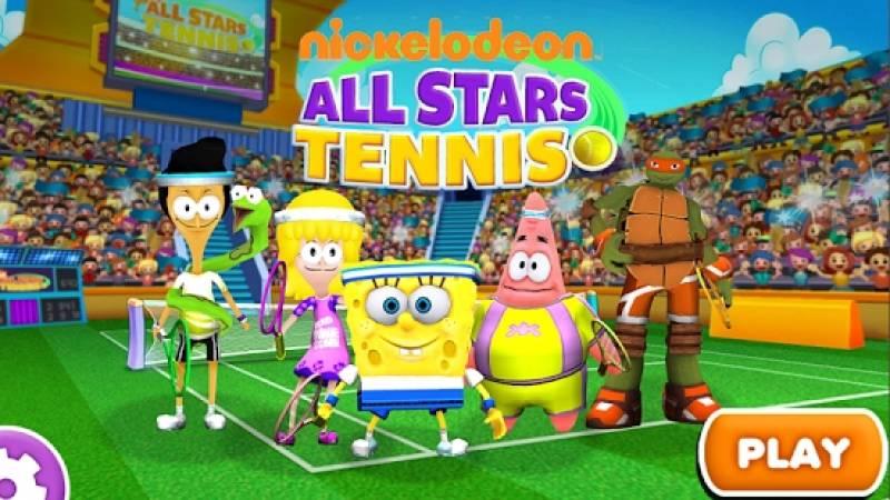 Nickelodeon All-Stars Tenis + MOD