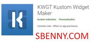 KWGT Kustom Widget Maker + MOD