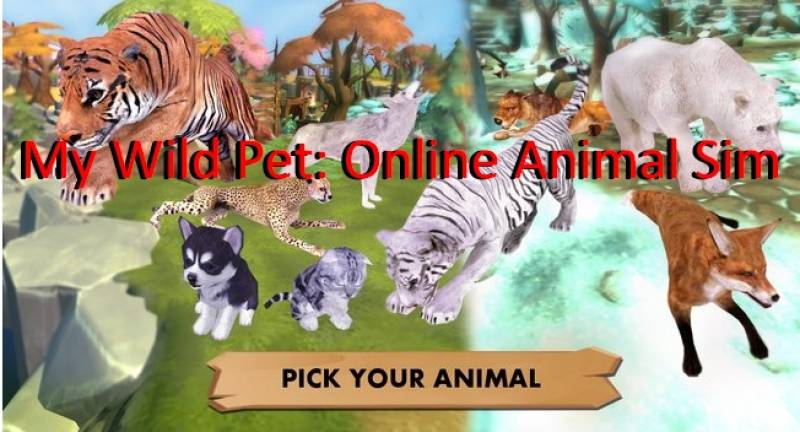 My Wild animali domestici: animali in linea Sim + MOD