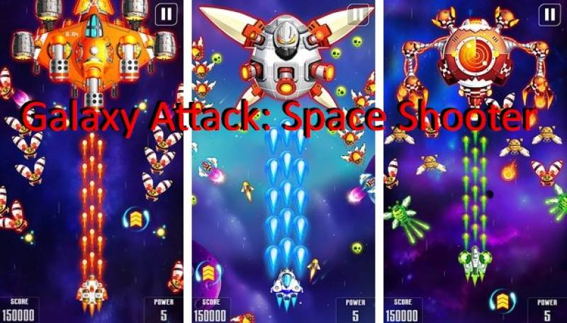 Galaxy Ataque: Space Shooter + MOD