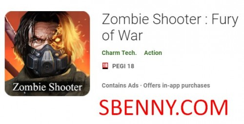 Zombie Shooter: Fury of War + MOD
