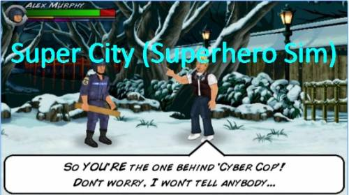 Super City (Superhero Sim) + MOD
