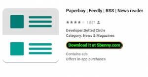 Paperboy | Довольно | RSS | Читатель новостей + MOD