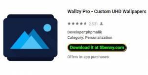 Wallzy Pro - Пользовательские обои UHD