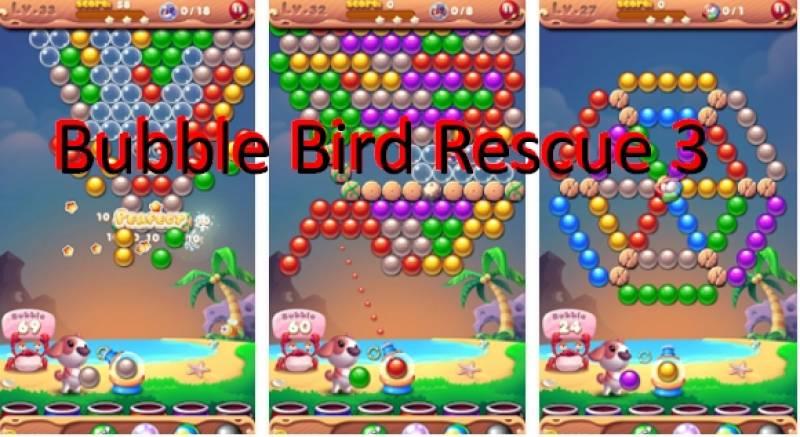 Bubble Uccello Rescue 3 + MOD