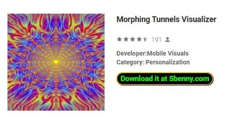 Morphing Tunnels Visualizer