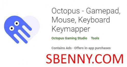 Octopus - Gamepad, Maus, Tastatur Keymapper + MOD