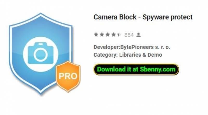 Blocco della fotocamera - Protezione da spyware