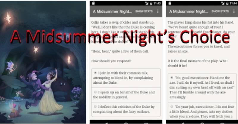 Un choix de nuit d'été + MOD