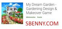 My Dream Garden-원예 디자인 및 화장 게임 + MOD