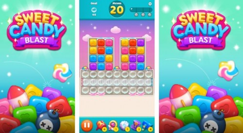 Sweet Candy Blast: Toy Quest Saga + MOD