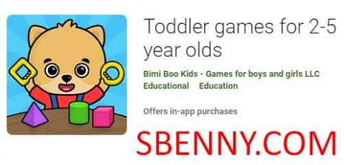 بازی های کودک نو پا برای افراد 2-5 ساله + MOD